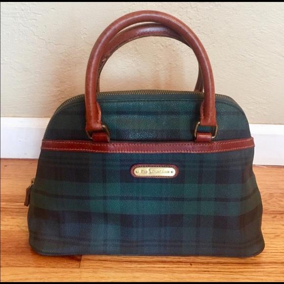 a2a9f2aa71 Vintage 1980 s Polo Ralph Lauren tartan purse. M 5a6a48175512fd1505648edc